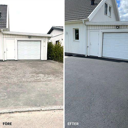 Garageuppfart i Eskilstuna
