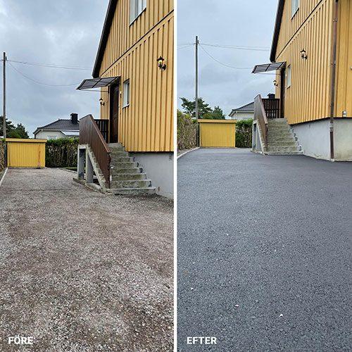 Garageuppfart-Bredängsgatan-Eskilstuna